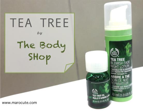 tea tree the body shop marocute